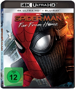 Spider-Man: Far From Home - UHD 4k Blu-ray Cover Deutschland