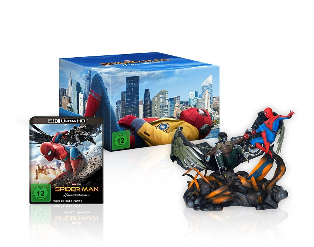 "Amazon exklusive Edition zu ""Spider-Man Homecoming"""