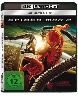 Spider Man 2 4KUHD Blu-ray Cover