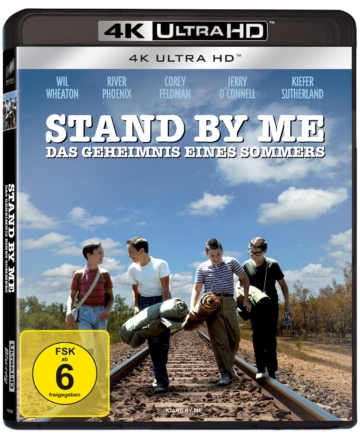 Stand by Me - 4K UHD Blu-ray Cover