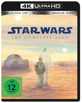 Star Wars Alternative Logo 4K UHD Blu-ray Disc