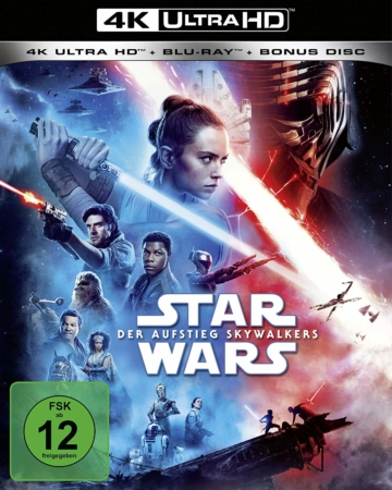 Frontansicht 4K Ultra HD Blu-ray Star Wars Episode IX