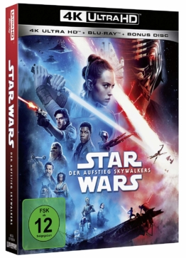 Star Wars Episode IX 4K UHD Blu-ray Cover mit Daisy Ridley