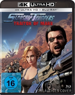 Starship Troopers - Traitor of Mars UHD-Blu-ray cOVER