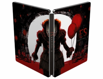 Frontcover und Backcover zum Stephen Kings ES Kapitel 2 UHD 4K Steelbook