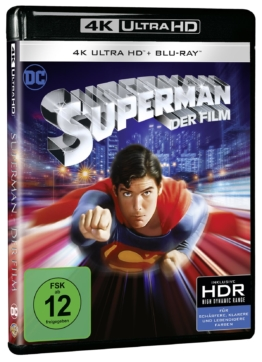 4k Cover zu Warners Superman (1978)