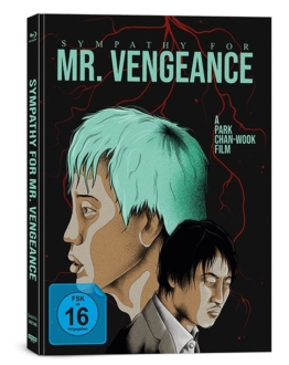 Sympathy for Mr. Vengeance - 4K UHD Mediabook mit Sammlercover von Capelight (Anime Artwork)