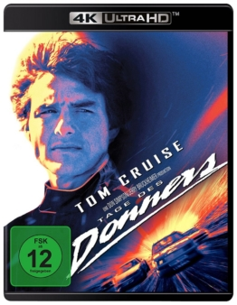 Tage des Donners 4K UHD Blu-ray Cover mit Tom Cruise auf dem Frontcover