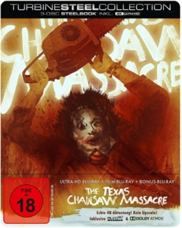 4K UHD Steelbook zu Texas Chainsaw Massacre 1974
