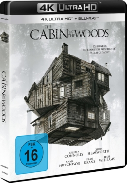 4K UHD Cover zu The Cabin in the Woods