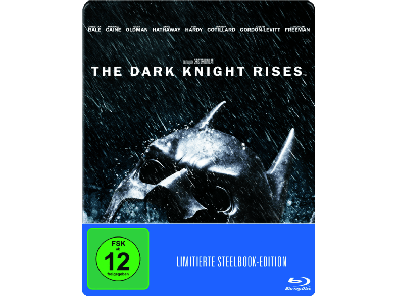The Dark Knight Rises im Blu-ray-Steelbook