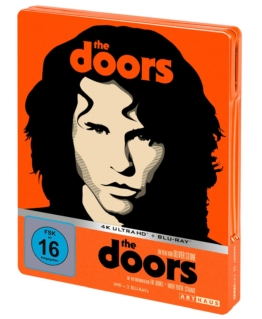 The Doors - 4K UHD Steelbook (Front) mit FSK Logo als 3-Disc-Set