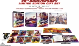 The fast and the furious 4K Blu-ray im Steelbook (20 Anniversary - Limited Edition Gift Set)