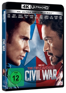 The First Avenger 4K auf UHD Blu-ray Disc