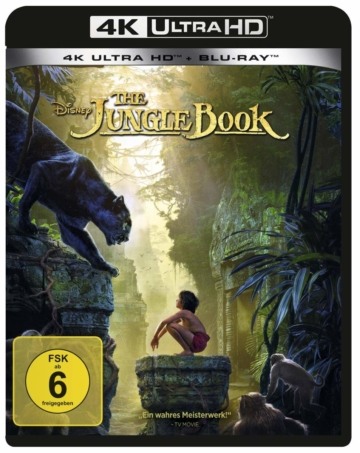 The Jungle Book 4K Ultra HD Blu-ray Disc Frontcover