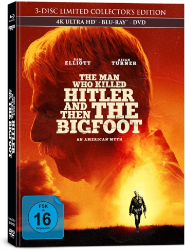 Front Mediabook zu The Man Who Killed Hitler and Then The Bigfoot 4k