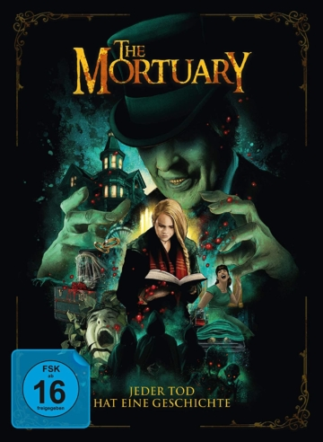 Frontcover The Mortuary 4K UHD Blu-ray Mediabook mit Blu-ray Disc