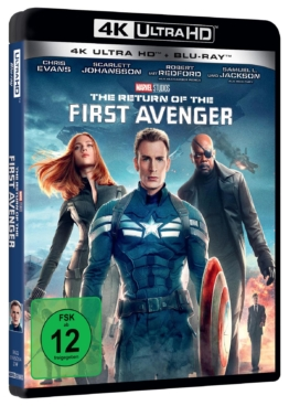 The Return of the First Avenger 4K auf UHD Blu-ray Disc