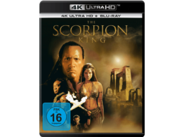 4K UHD Blu-ray Disc zu Universals The Scorpion King