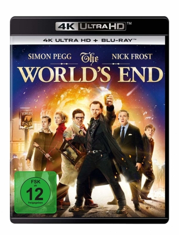 4K UHD Frontcover zu The World's End 4K