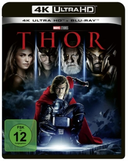 Thor (2011) 4K UHD Blu-ray Cover Frontansicht