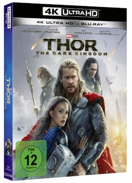 Thor - The Dark Kingdom Cover - 4K UHD Blu-ray Disc
