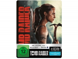 4K Cover zum Tomb Raider 4K Steelbook