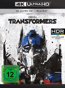 Transformers (2007) - Ultra-HD-Blu-ray Cover