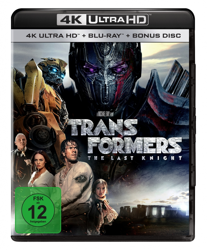 Transformers - The Last Knight auf 4k UltraHD Blu-ray