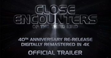 Close Encounters of the Third Kind - 40th Anniversary Trailer Logo