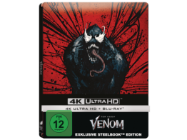 Venom (Exklusives-SteelBook) [4K-Ultra-HD-Blu-ray]