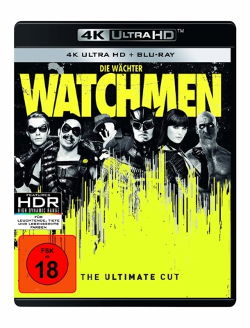 UHD 4K Keep Case zu Watchmen Ultimate Director's Cut