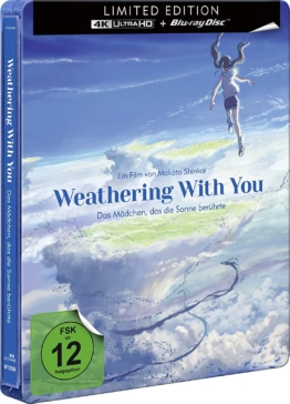 Weathering with you (4K UHD Steelbook) (Frontcover)