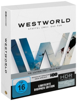 Westworld - Staffel 2 - Das Tor (4K Ultra HD Limited Digipack)