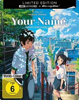 Cover zum Your Name 4K Steelbook