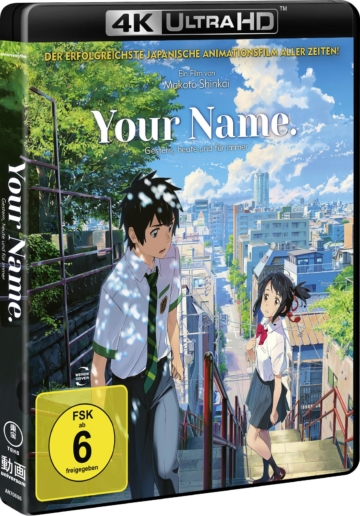 Your Name 4k UHD Keep Case Cover