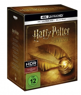 Harry Potter 4K Exklusiv Complete Collection