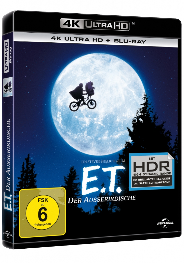 ET 4K Cover mit Blu-ray Disc