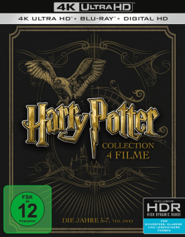 Harry Potter 4k Set auf Ultra HD Blu-ray Disc