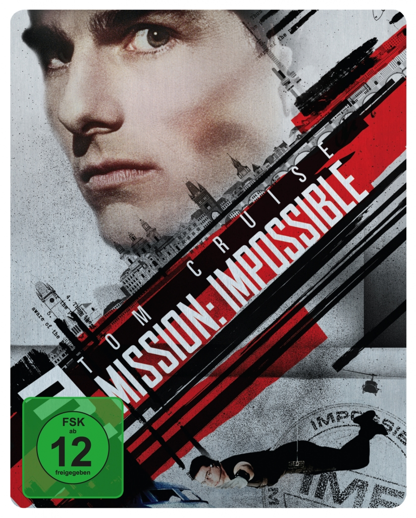 Offizielles Cover zum Mission: Impossible 1 - Steelbook