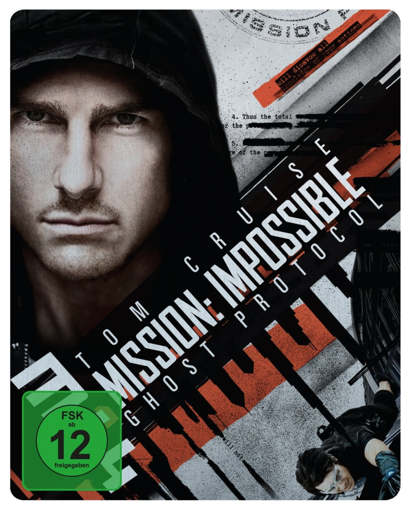 Mission: Impossible 4 (Phantom Protokoll / Ghost Protocol) - Offizielles Blu-ray-Steelbook