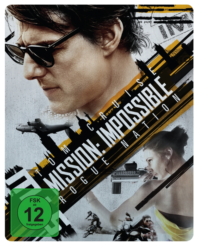 Offizielles Cover zu Mission: Impossible 5 - Rogue Nation (Steelbook)
