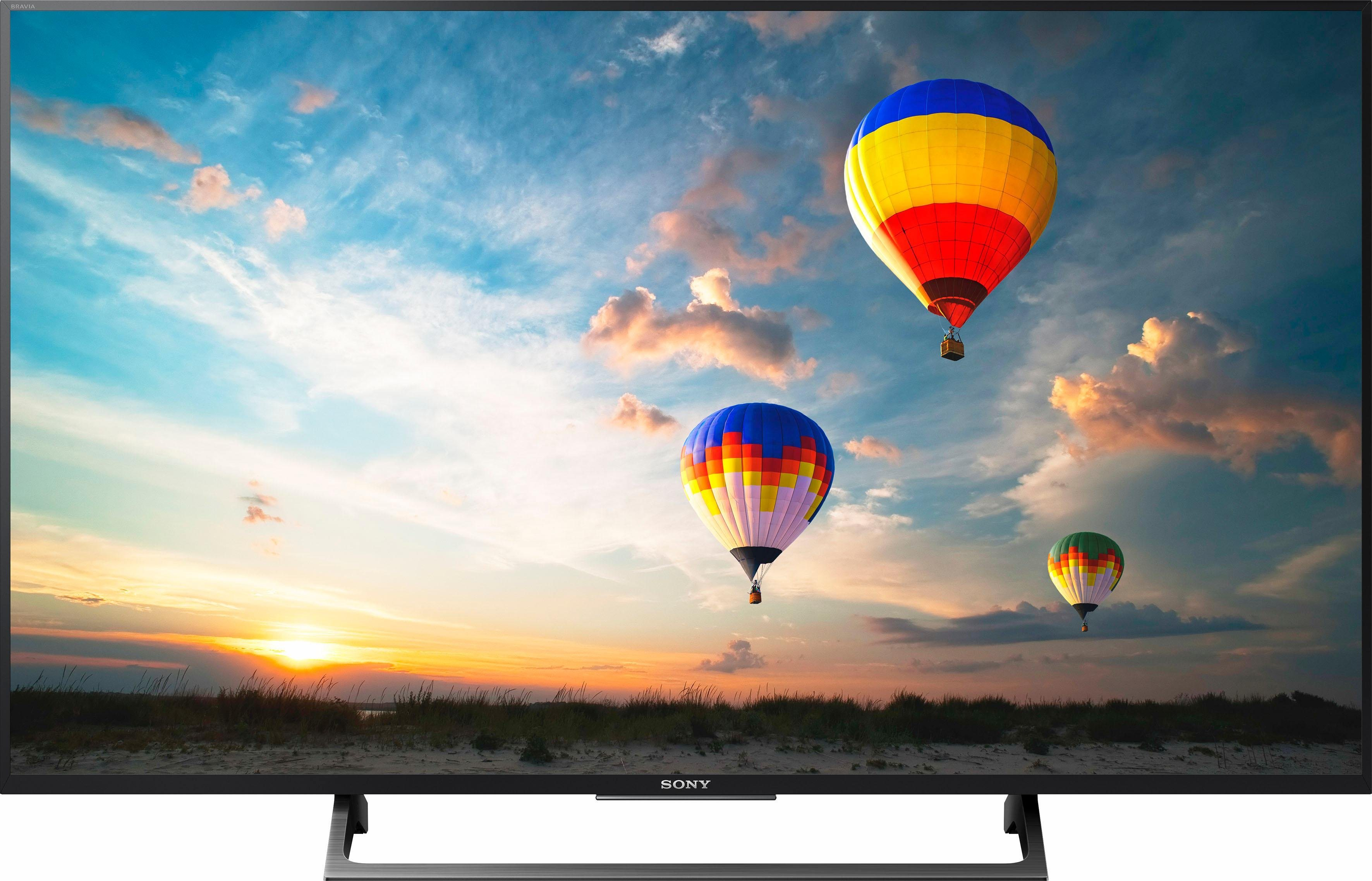 Sony Bravia KD-49XE8005 - 4k Ultra HD mit Edge LED Panel und Android TV